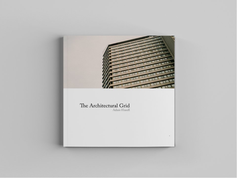 """The Architectural Grid"" front cover, Adam Hazell"
