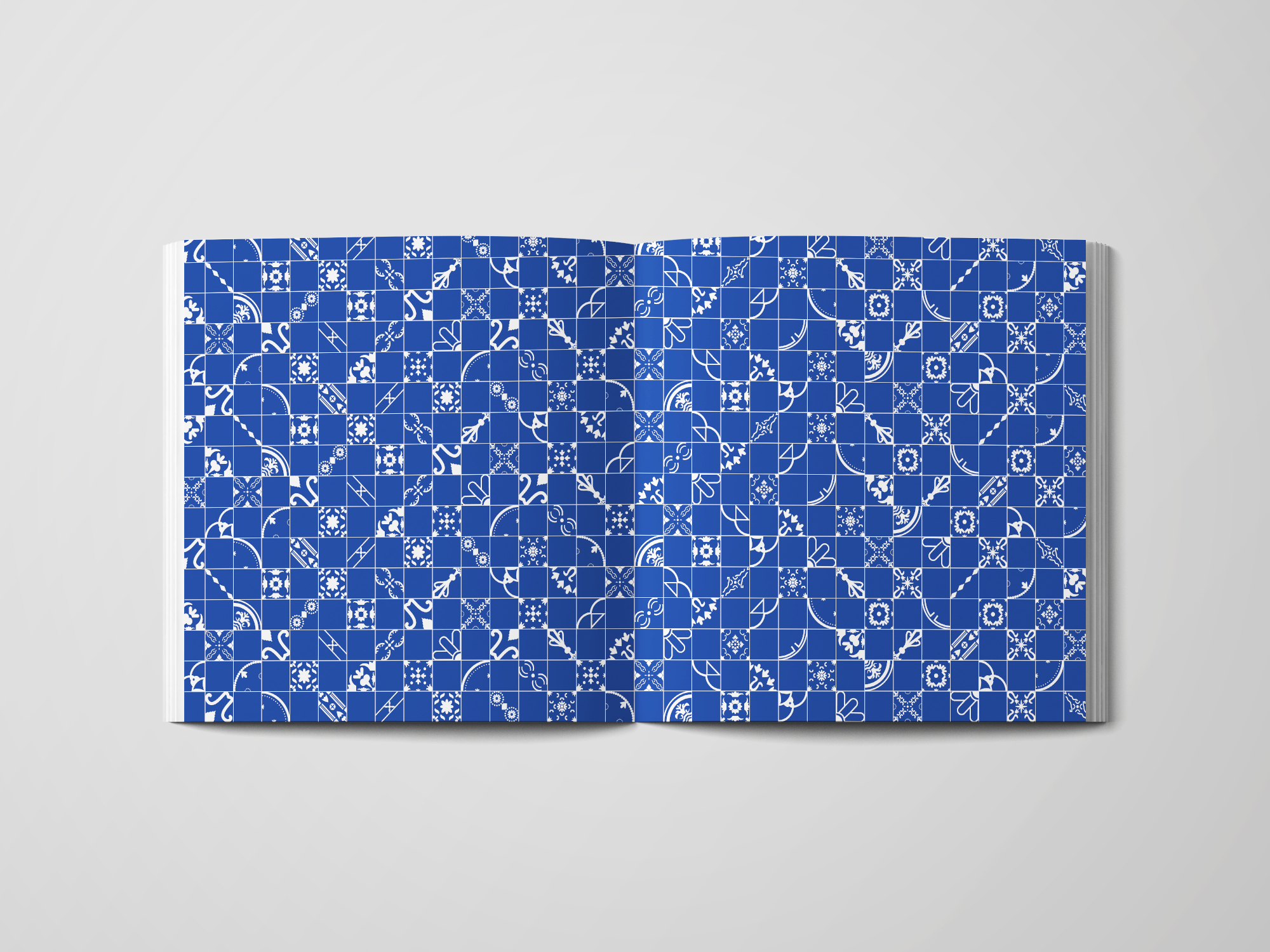 Type Specimen Book Endpaper